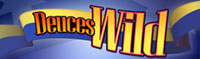 Logo Deuces Wild Video Poker