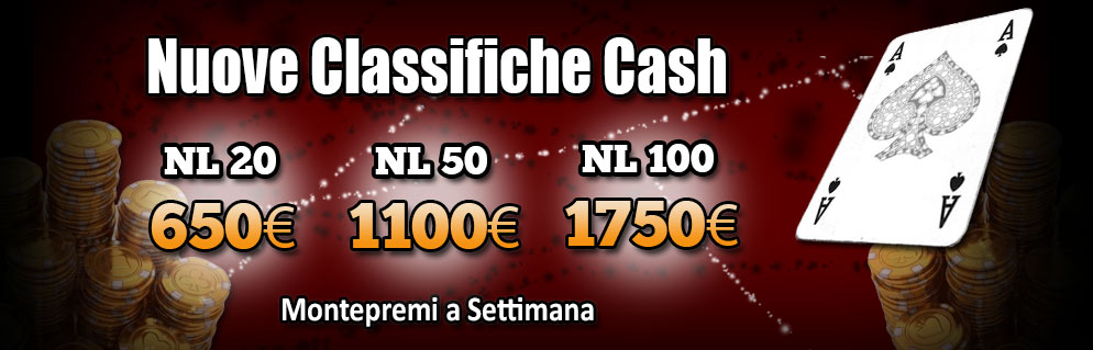 Classifiche Cash